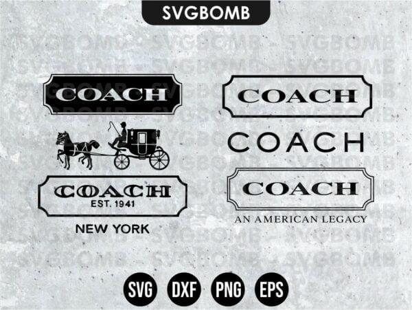 Coach Logo SVG