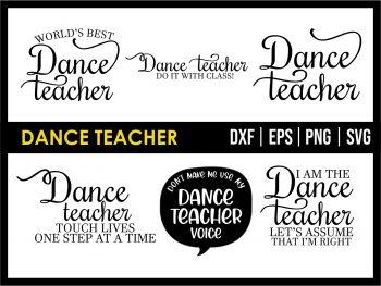 Dance Teacher SVG