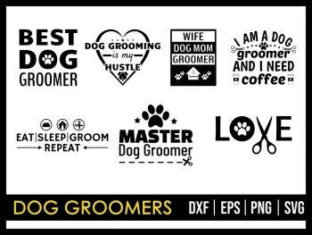 Dog Groomers SVG
