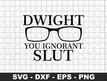 Dwight Schrute SVG