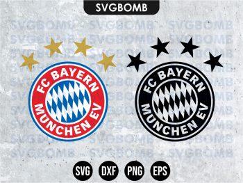 FC Bayern Munchen Logo SVG