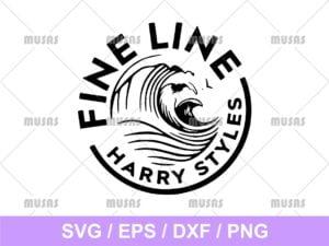 Fine Line Harry Styles SVG