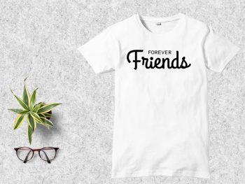 Forever Friends T Shirt Design SVG