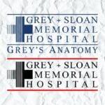 Grey's Anatomy TV Show Logo SVG