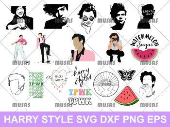 Harry Styles SVG