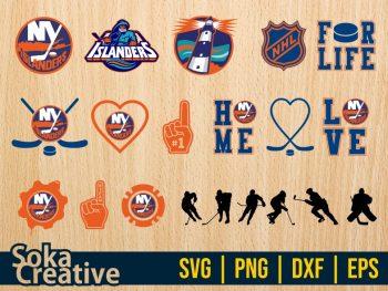Hokey New York Islanders SVG