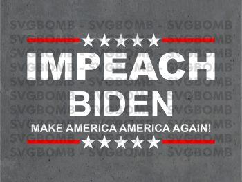 Impeach Biden SVG