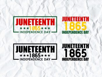 Juneteenth 1865 Independence Day SVG