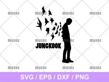Jungkook BTS SVG