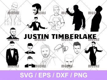 Justin Timberlake SVG