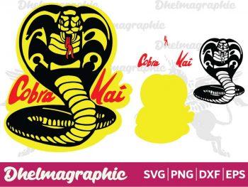 Cobra Kai Karate Kid SVG PNG EPS DXF