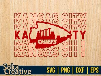 Kansas City Chiefs Cut File SVG