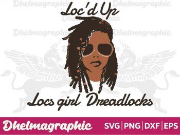 Loc'd Up Locs girl Dreadlocks