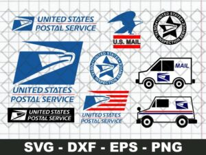 Mail Truck SVG