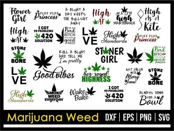 Marijuana Weed SVG