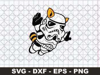 Mario Bros Stormtrooper SVG
