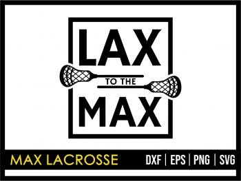 Max Lacrosse SVG