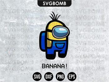 Minion Among Us SVG