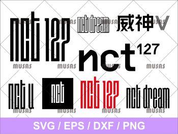 NCT 127 Logo SVG