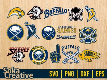 NHL Hockey Buffalo Sabres SVG