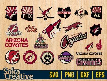 NHL Hokey Arizona Coyotes SVG