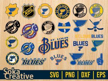 NHL Hokey St. Louis Blues SVG