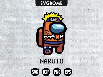 Naruto Among Us SVG