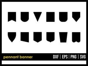 Pennant Banner SVG