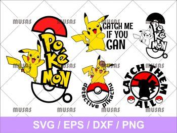 Pokémon Pikachu SVG