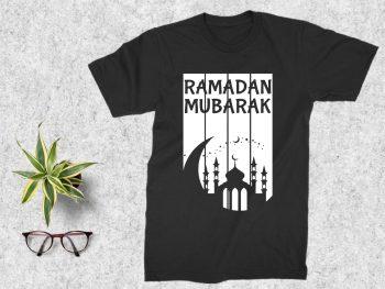 Ramadan Mubarak T Shirt Design SVG