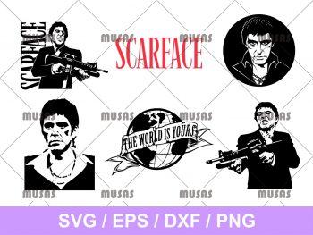 Scarface SVG