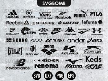 Sport Brands Logo SVG