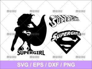 Supergirl SVG