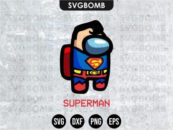Superman Among Us SVG