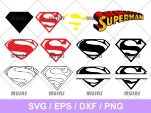 Superman Logo SVG
