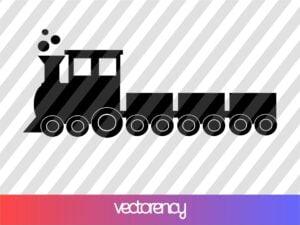 Toy Train SVG