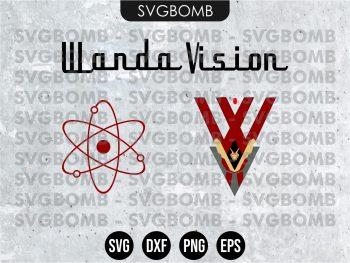 Wandavision SVG
