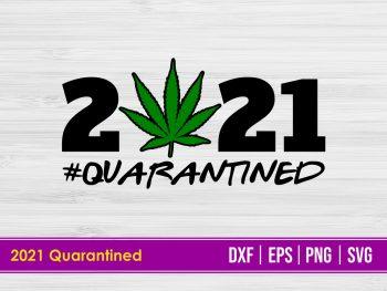 2021 Quarantined SVG