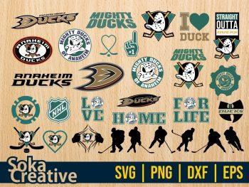 Anaheim Ducks SVG Bundle