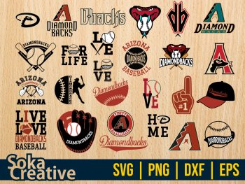 Arizona Diamondbacks SVG Bundle