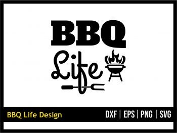 BBQ Life SVG