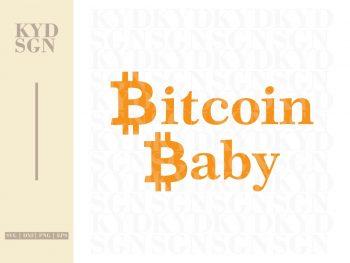 Bitcoin Baby SVG