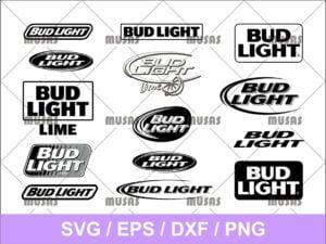 Bud Light SVG