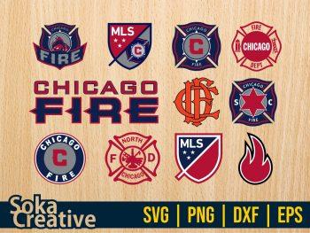 Chicago Fire SVG