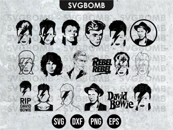 David Bowie SVG Bundle