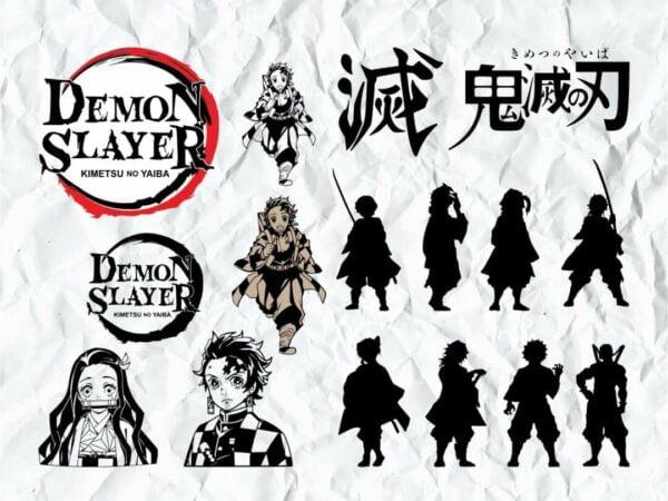Demon Slayer SVG