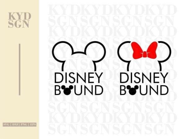 Disney Bound SVG