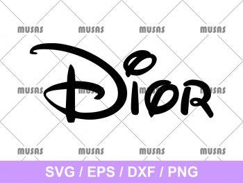 Disney Dior SVG