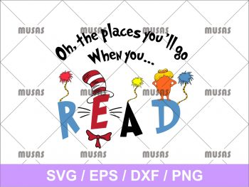 Dr. Seuss. Oh, the places you'll go when you SVG