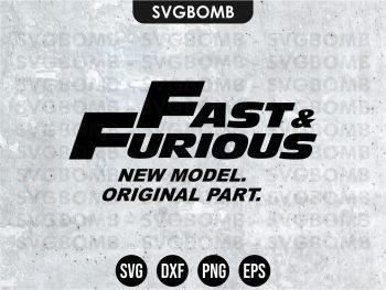 Fast & Furious SVG